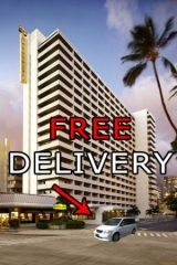 FREE mobility scooter waikiki delivery